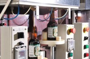 地ビール注入