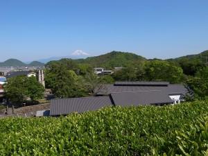 富士山と反射炉と茶畑