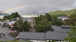 反射炉と虹2